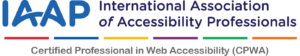 CPWA, Certified Professional in Web Accessibility logo