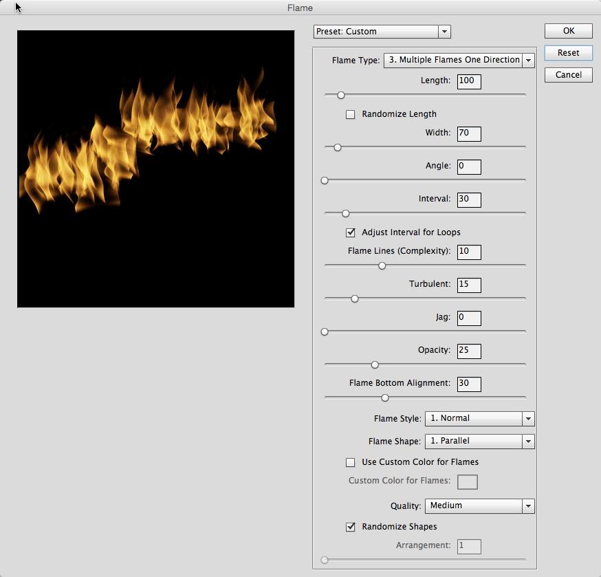 Flame-kayttöliittymä
