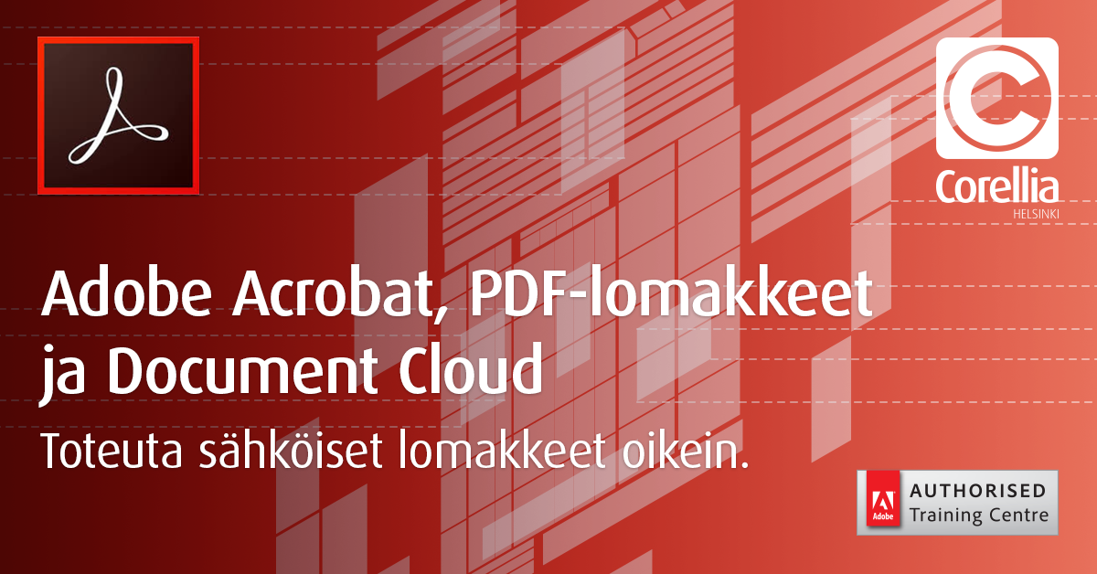 Acrobat, PDF-lomakkeet ja Document Cloud